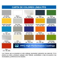 Amercoat Color Chart Especificaciones Tcnicas Lnea Ppg