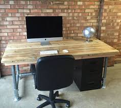 table for office desk. scaffold plank urban industrial office desk and by theoldwoodhut table for i