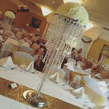 3 tier 90cm tall crystal chandelier centrepiece 35cm diameter top plate with set up 20