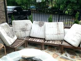 cleaning patio furniture cushions outdoor mildew clea