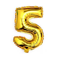 40 giant 5 five gold mylar number letter balloons birthday big balloon party wedding centerpieces table decoration events 0 0 width=720&height=960