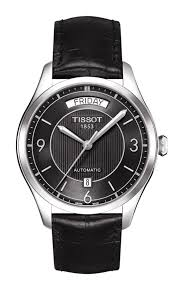 top ten day date watches time transformed tissot make this watch in paired versions men s and women s for occasions such as engagements marriages and anniversaries reference t0384301105700