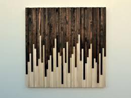 reclaimed wood wall art sculpture