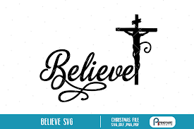 Use by itself or copy and mirror it for a toast. Believe Christmas Graphic By Pinoyartkreatib Creative Fabrica