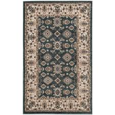 safavieh lyndhurst teal cream 3 ft x 5 ft area rug