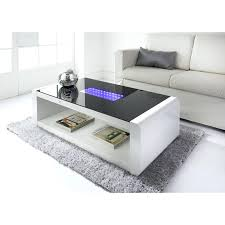 coffee table led infinity coffee table coffee table with fridge led lights