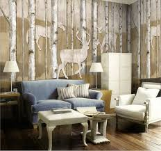 view in gallery reinder woods mural wallpaper 5