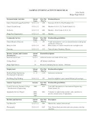 Sample Resume Extracurricular Activities Extracurricular Activities Resume Sample DiplomaticRegatta 7