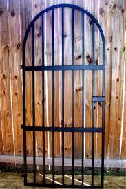 iron wine cellar door spanish style gate heavy duty round top winery gate ebay