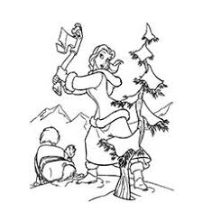 Christmas Tree Printable Coloring Pages At Getdrawingscom Free