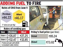Cng And Domestic Piped Gas Rates Hiked In Mumbai Region