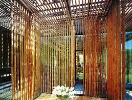 image of unique outdoor bamboo shades