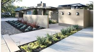 Small Picture 50 Modern Front Yard Designs and Ideas Modern minimalist