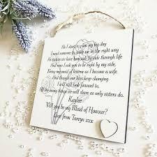 personalised wedding sister proposal