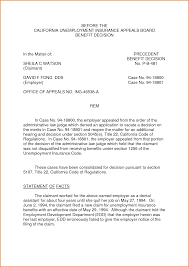 sample unemployment appeal letter writing an unemployment appeal letter by pqj12807