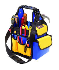 electrician tool bags. best quality electricians tool kit available online at http://strumentu.com electrician bags e