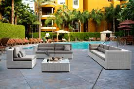Outdoor Wicker Sofa Sectional 11 pieces wicker outdoor furniture