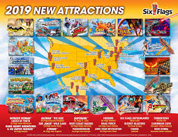 six flags has announced all of their new 2019 season rides attractions for every park nationwide scroll down below to find out what your home six flags