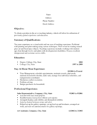 Resume Writing For Stay At Home Moms Resume Reentering The