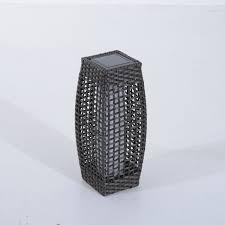 tall vase lighting garden. Rattan-Solar-Powered-Lamp-LED-Tall-Lantern-Garden- Tall Vase Lighting Garden