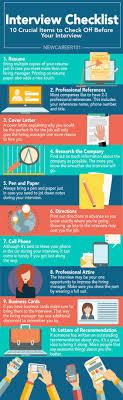interview checklist newcareer com an interview is a interview checklist 9679