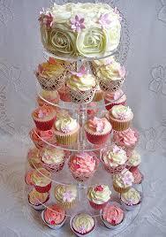 Flower Cupcakes Cake Decorating Flowers Wedding Cupcake Tree