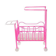 Haayward 1 Pcs Lovely Baby Toy Kids Doll Bed with ... - Amazon.com