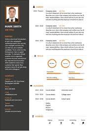 Modern Resume Templates Free Modern Resume Template Free Word Psd