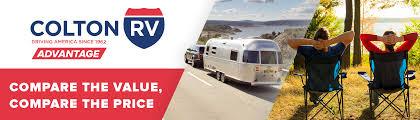 Colton RV- Driving America Since 1962. Compare the Value, Compare the Price