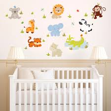 baby zoo animals room nursery kids rooms wall decals wall decals kids rooms high resolution wallpaper