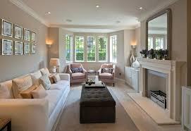 Decorating Rectangular Living Room Model Interesting Inspiration