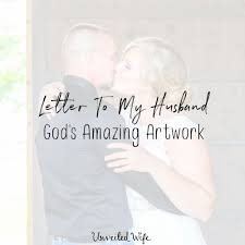 Letter To My Husband Archives Unveiled Wife
