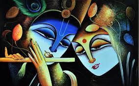 Radha Krishna Painting Hd Wallpapers 1080p