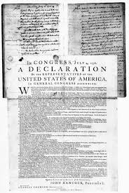 summary of the declaration of independence independence day  the declaration of independence is the founding document of american history