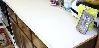 how to glue laminate countertop kitchen before applying faux granite paint finish gluing laminate countertop re
