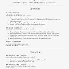 Example Engineer Resumes Biomedical Engineer Resume And Cover Letter Examples
