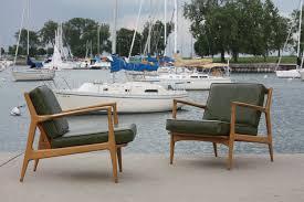image of danish mid century modern outdoor furniture