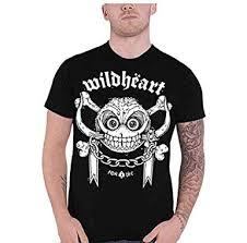 ma gller men s the wildhearts logo shirts um black
