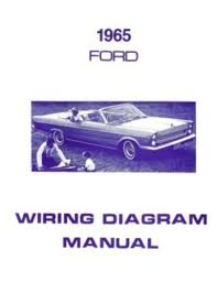ford wiring diagrams the old car manual project images  1965 ford galaxie 500 wiring diagram