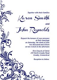 Wedding Invitation Downloads Free Pdf Download Foliage Border Wedding Invitation