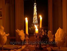 dining with eiffel tower view. one bedroom apartment for sale with stunning eiffel tower view! dining view