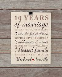 best 25 10 year anniversary gift ideas on pinterest 10th Wedding Anniversary Gifts Under 200 10 year anniversary gift wedding anniversary important dates family, marriage art vintage damask neutral brown Gifts for Women $200