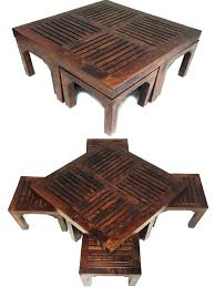 india coffee table book coffee tables table stool incl 4 stools post book