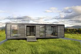 Nice Modern Design Of The Prefab Shipping Container Homes Manufacturers  That Can Be Decor With Wooden Floor Can Add The Beauty Inside The Modern  House ...