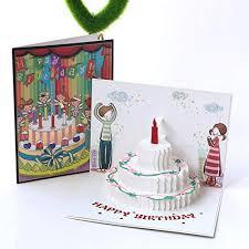 Paper Spiritz Pop Up Birthday Cake Cards 3d Card Birthday Card