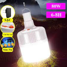 [FREEE SHIP] Bóng Đèn Tích Điện 100W Siêu Sáng, Bóng Đèn LED Sạc Tích Điện,  Đèn Sạc Dự Phòng