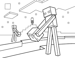 Minecraft Mutant Creeper Coloring Pages Color Bros