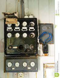 old fuse box in a abandoned house stock photo image of europe old fuse box in rented house at Old Fuse Box In House