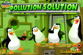 Small Picture The Penguins of Madagascar Pollution Solution Online Game