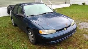 1999 Used Chevy Prizm Beater Car Tour - YouTube